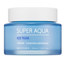 Освежающий крем для лица MISSHA Super Aqua Ice Tear Cream 50 мл